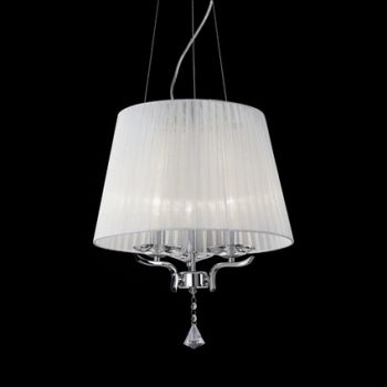Illuminazione ideal lux for Lampadari di tessuto